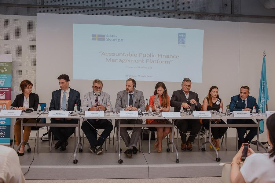Платформа за одговорно управљање јавним финансијама у Србији